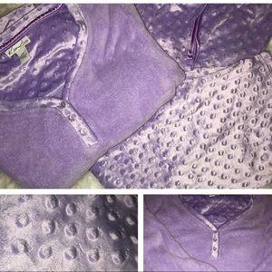 NWT Luxurious super Soft Kim Rogers Lilac Pajamas
